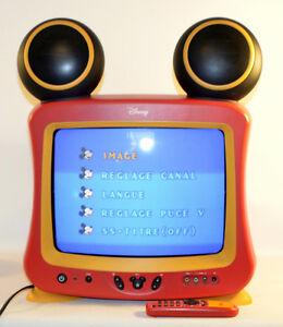 Télévision Disney Mickey Mouse, avec manette Model DT1350C