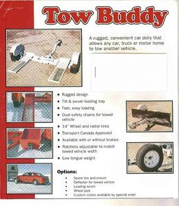 Car / Truck Tow Dolly by: TOPP Weld Enterprises