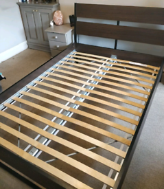 IKEA Trysil Double Bed Frame