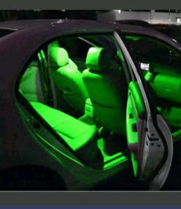 Car Led Light Different Color Interior, licence plate light
