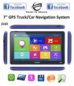 "7"" GPS Truck/Car Navigation System	(Free Map Updates)"