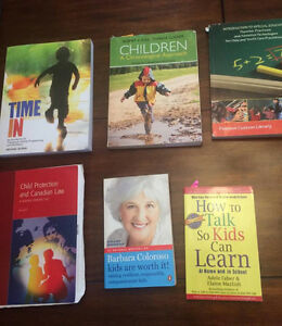 Child and Youth Textbooks - First Year and Second Year