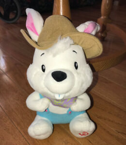 Plush Hallmark Singing Easter Bunny Rabbit