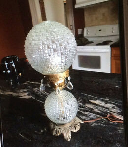 Vintage Style Hurricane Lamp - COBOURG Peterborough Peterborough Area image 1
