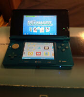 Nintendo 3DS (blue) barely used