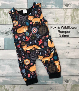 New Fox and Wildflower Romper