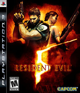 Resident Evil 5, Planet 51 and wwe 12 for ps3