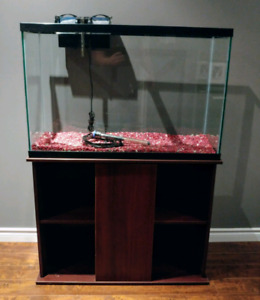 45 Gallon Aquarium & Stand