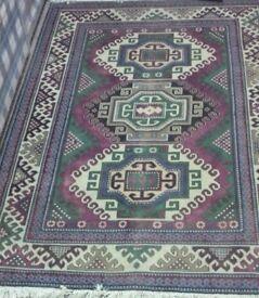 RUG KILIM SUPERB CONDITION , Antique Khazak hand made rug for 1900th