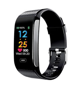 New SmartWatch Fitness Tracker Band Blood Pressure Heart Rate