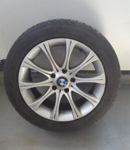 """17"""" All Season Radial Tires with Alloy Rims"""