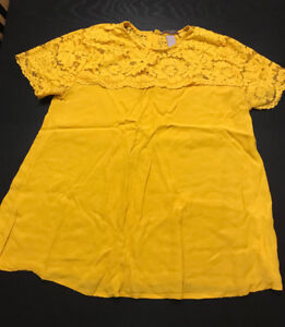 Size 18 Yellow Top