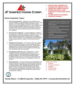 Home Inspection Services - Humboldt