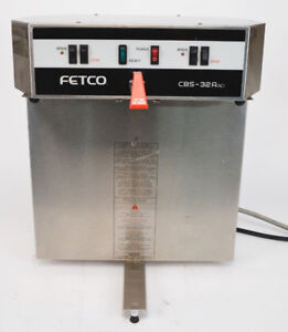 FETCO Cbs-32a Dual Commercial Coffee Maker Machine