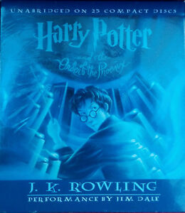 Harry Potter And The Order Of The Phoenix (Book 5) (Audio CD) Kitchener / Waterloo Kitchener Area image 1