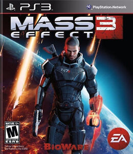 PLAYSTATION 3 PS3 GAME MASS EFFECT 3 BRAND NEW & FACTORY SEALED