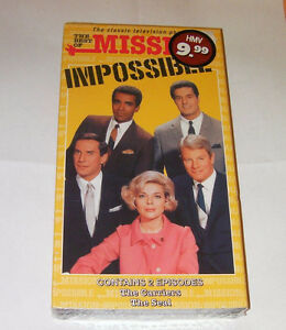 Mission impossible VHS tape