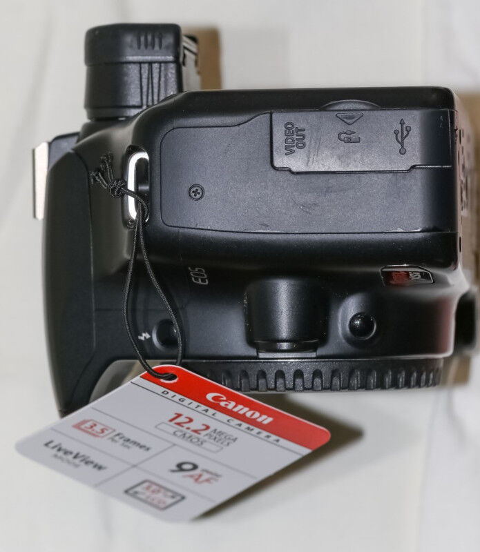 Canon EOS Rebel Xsi with EF-S 18-55mm IS