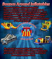Bouncy Castles From Bounce Around Inflatables