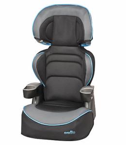 2 convertable booster seats- Evenflo & Graco