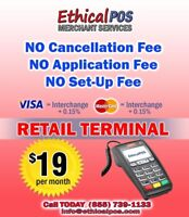 CREDIT CARD MERCHANT SERVICES - YOU ARE PAYING TOO MUCH !