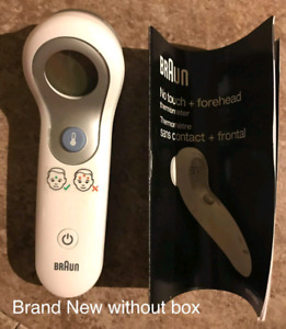 Braun No Touch Forehead Thermometer  Brand New Condition