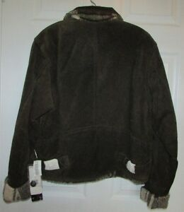 Brown Suede Leather Jacket - NEW with TAGS Gatineau Ottawa / Gatineau Area image 3