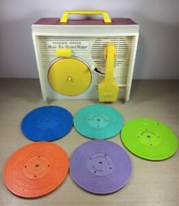FISHER PRICE Music Box Record Player 995 Switzerland 1971