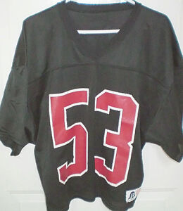 Practice Football Jersey by Sports Belle
