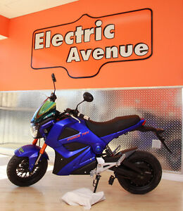 EBIKE MOTORCYCLE STYLE FORCE 72 VOLTS ROAD LEGAL