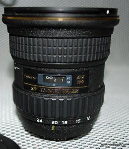 Tokina lens (wide) for Nikon DX cameras Cambridge Kitchener Area image 1