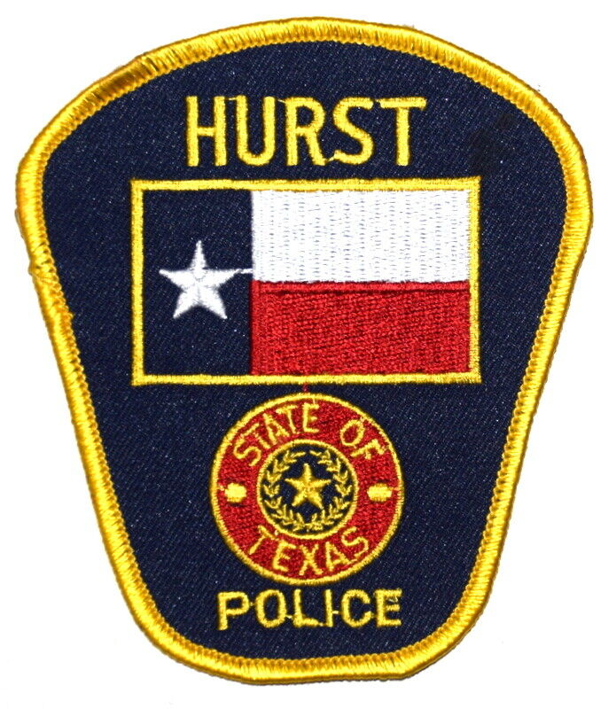 HURST TEXAS TX Sheriff Police Patch STATE SEAL STATE FLAG ~