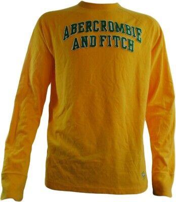 Abercrombie & Fitch Yellow Sweatshirt (BNWT RRP £39.99 (Medium -- pid817))
