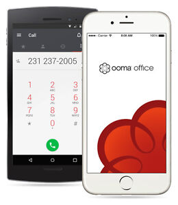 OOMA Business Phone (No Contract, No agreement).