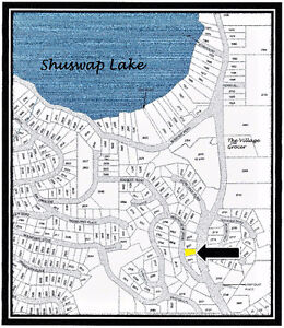 Shuswap Lake Estates Building Lot