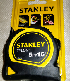 Stanley Tape Measure 5m/16' Tylon