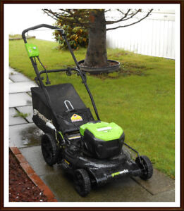 Greenworks 13A Electric Lawn Mower, 21-in (Used under 12 times)