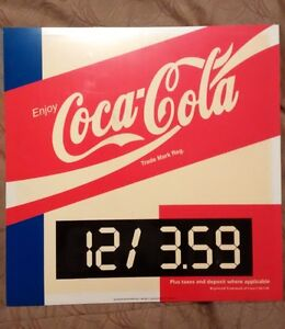 *** COKE COCA COLA / PEPSI Gasoline / Oil Petro Poster - Sign