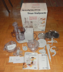 BRAUN MULTIPRACTIC DELUXE 4262 FOOD PROCESSOR GERMANY NEW IN BOX
