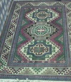 Absolute Bargain. Antique Khazak hand made rug for 1900th
