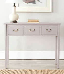 Console Table with Storage Drawers - BRAND NEW