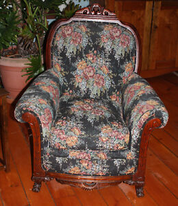 Antique Sofa and two Chairs Cambridge Kitchener Area image 2