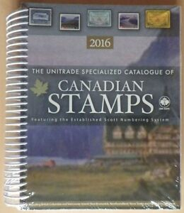 2016 Unitrade Specialized Catalogue of Canadian Stamps (new)