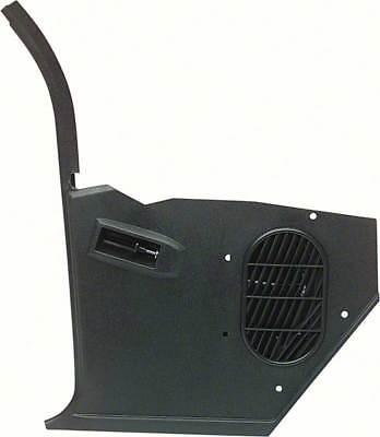 67-69 Camaro Firebird NO A/C Inner Pillar Kick Trim Panel LH OER -