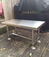 Stainless Steel Coffee Table / Bench/ TV Stand- industrial grade