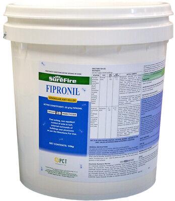 Ant-killer (Fipronil Granular Ant Killer Surefire PCT 10kg Non Repellent Insecticide)