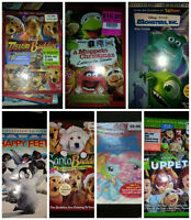Kids Dvd's/bluray