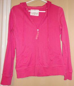 Women's hot pink colour light spring summer hoodie sweater London Ontario image 1