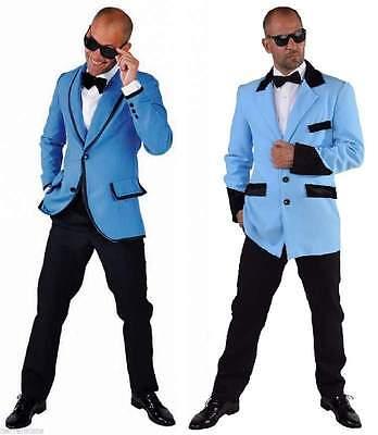 Sakko Disco Jacke Anzug Kostüm Herren Jackett Party Hippy 50er Jahre Rock`n Roll