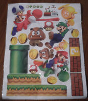 Mario Brothers Wall Decals